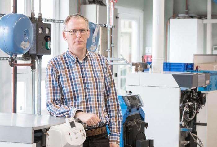Guido Saenen, energie adviseur Informazout