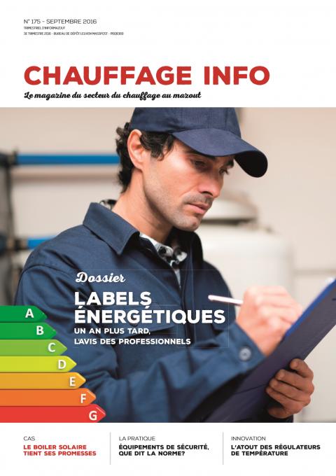 Chauffage info Septembre 2016
